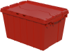 Container, Attached Lid Container 12 gal -- 39120RED