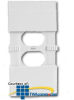 Leviton Child Resistant Wallplate (Pkg of 5) -- 89000