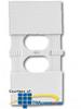 Leviton Child Resistant Wallplate (Pkg of 5) -- 89000