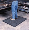 Ortho Stand Antifatigue Mat; 3'x4'; color, black -- EW-81853-44