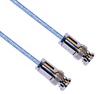 3-SLOT SOLDER/CLAMP PLUG TO PLUG M17/176 TWINAX, 72 INCH CABLE LENGTH -- CA-2008-72 -Image