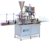 Versatile Automatic Bottle & Jars Filling Machine -- PLF-2000