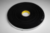 3M 4718 Black Single Sided Foam Tape - 1/4 in Width x 36 yd Length - 1/8 in Thick - 86292 -- 021200-86292 -- View Larger Image