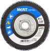 Merit ZA Coarse Arbor Thread Fiberglass HD Conical Flap Disc -- 08834193906 - Image