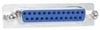 Ferrite Filter (EMI) Adapter, DB25 Male / Female -- DGF25MF - Image