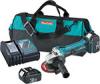 "BGA452 - 18V LXT® Lithium-Ion Cordless 4-1/2"" Cut-Off/Angle Grinder Kit -- BGA452"