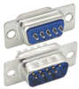 DB9 Male Solder Connectors, Tray 50 -- SD9P-TRAY - Image