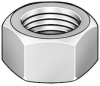 Hex Nut,Full,M20x1.50,30mm W,PK 20 -- 6CB30