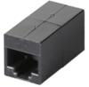 CAT6 Straight-Through Coupler, Unshielded, Black -- FM609