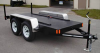 12000 lb Heavy Duty Trailer with Internal Fuel Tank -- 190003