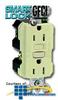 Leviton 15 Amp 125V SmartLock GFCI Receptacle - Matching.. -- 8599