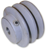 Double Groove V Belt Pulleys (inch) -- A 6F10-0632116 - Image