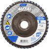 Norton Metal ZA Coarse Center Mount Fiberglass Flat Flap Disc -- 66254491772 - Image