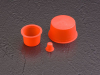Tapered Silicone Caps and Plugs - TS SERIES -- TS-18