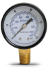 0-100 psi / 0-700 kPa Pressure Gauge with 2.0 inch mechanical dial -- G20-BD100-4LB - Image