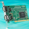 Powered 2 Port RS232 PCI Serial Card - 0.5 AMP -- UP-869