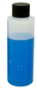 HDPE Cylinder Bottle with Black Cap -- 66814