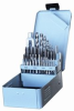 29 Piece DRILL & TAP SET - Metal Box -- T9128