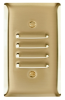 Louver, One Gang Vertical, Brass -- SB771
