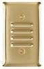 Louver, One Gang Vertical, Brass -- SB771