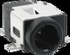 0.8 mm Center Pin Dc Power Connectors -- PJ-028-SMT-TR - Image