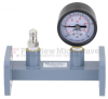 WR-90 Waveguide Pressurizing Section 4.25 Inch Length with CPR-90G Grooved Flange from 8.2 GHz to 12.4 GHz -- FMWSP1008 - Image