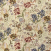 Allover Floral with Iris Fabric -- RH-Riverside