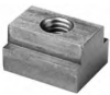 Stainless Steel T-Nut: 5/16-18 Thread x 3/8 Table Slot -- 47403