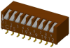 DIP Switches -- 193-9MSN-ND - Image