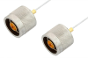N Male to N Male Cable 24 Inch Length Using PE-SR047FL Coax -- PE34146-24 -Image