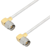 SMA Male Right Angle to SMA Male Right Angle Cable Assembly using LC085TB Coax, 6 FT -- LCCA30113-FT6 -Image