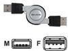USB RTRCTBL EXTNSN CABLE A-M/F DSTP 2.6 -- F3U134-2.6-RTC