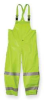 Arc Flash Rain Overall,2XL,HiVis Lm Ylw -- 3FZN7 - Image