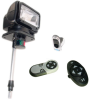 Golight GL-2110-12-E Remote Control Spotlight with 12 inch stanchion mount - Perko mount