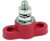 Junction Block Stud 47202, Red, 1 Stud Thread, 5/16-18, 250A -- 47202
