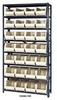 Giant Open Hopper Bin Storage System -- HQSBU-240-R -Image