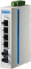 ProView 5-port 10/100Mbps Industrial Switch with 1x Multi Mode ST Type, Wide Temp -10~60? -- EKI-5525M-ST-AE