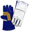 Chicago Protective Apparel Blue Leather Welding Glove - SA2-ALUM -- SA2-ALUM