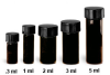 NextGen V Vial Amber Glass High Recovery Vials -- W986337NG
