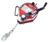 MightEvac Self-Retracting Lifeline with Emergency Retrieval Hoist