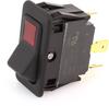 EATON EURO-SR Rocker Switch, SPST, On-Off, Lit, 8007K23N313V22 -- 43105 - Image