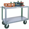 Meco Husky Service Cart, 2 Shelf (34