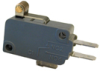 MICRO SWITCH V15 Series Standard Basic Switch, 16 A, roller lever, 4,80 mm x 0,50 mm quick connect terminals, SPST-NO, 120 gf [1,18 N] -- V15H16-EP100A05-K -Image