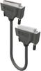 D-Subminiature Assembly, 5 ft, (50) 26 AWG (7x34) TC, PE/PVC, Foil+TC Braid Shld, CM -- 49765A -Image