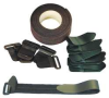 Hook And Loop Strap Kit,1in,Black -- 100RS
