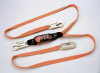 Titan Pack-Type Shock-Absorbing Lanyard - twin-leg w/ snap hook & snap hook > UOM - Each -- T6121/6FTAF -- View Larger Image