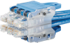 QuickNet Switch Harnesses : Category 6 UTP -- QPPCLBRS3M