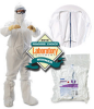 Kimberly-Clark Kimtech Pure A5 White Small/Medium Disposable Cleanroom Boot Cover - FS 209, ISO Class 5, ISO Class 6, ISO Class 7, ISO Class 8 Rating - 036000-12922 -- 036000-12922