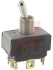 Switch, AC Rated, Toggle, DP, ON-OFF-ON, SCREW TerminalS, 6A@125V;3A@250V -- 70155742 - Image