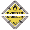 Split-Frame Placard for General Commodities - Split Unit for Roll Up Doors -- 754476-59956